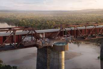 Поезд на мосту превратят в гостиницу
