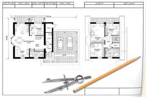 Этапы строительства каркасного дома: выбор проекта