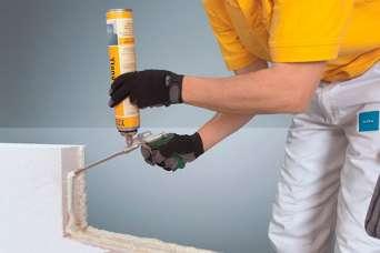 Как укладывать газобетон на клей-пену