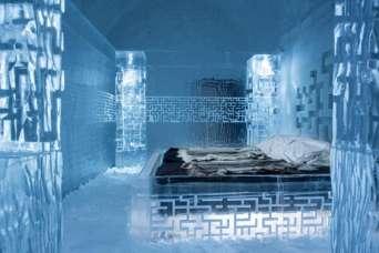 Подготовка к созданию новой ледяной гостиницы уже началась