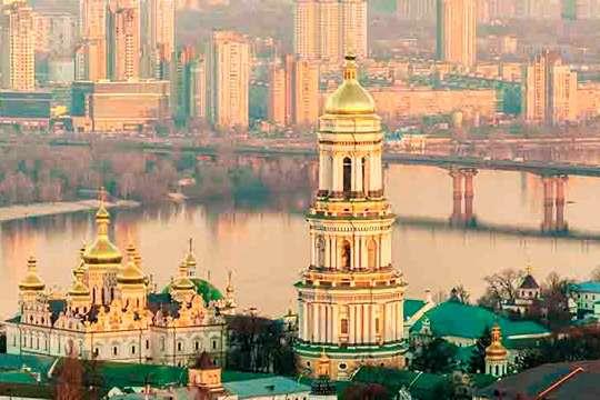 Киев - один из лучших памятников мировой архитектуры. Видео