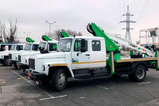 Одесса получила 8 новых автогидроподъемников Comet