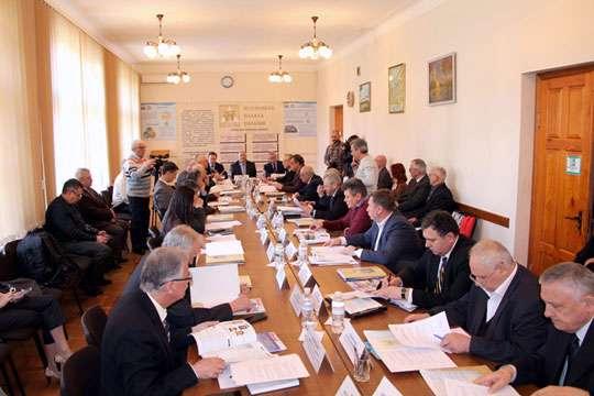 Состоялось заседание Президиума Строительной палаты Украины