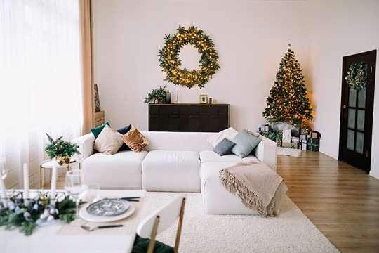 Готуємо вітальню до новорічно-різдвяних свят