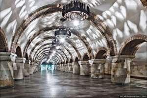Самая красивая фотография самой красивой станции киевского метро. Фото