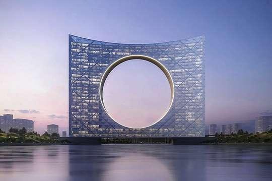 Появился проект самого необычного моста в мире: «2 в 1» – мост-дом. Фото