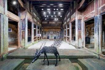 Заброшенную деревню превратили в художественный центр