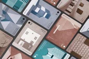 По современной архитектуре выпускают новую колоду карт