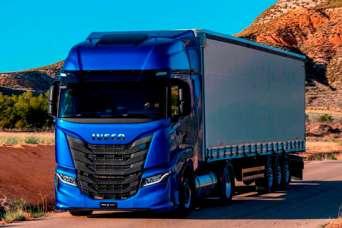 Грузовик Iveco, работающий на газе завоевал премию «Самый стабильный грузовик-2021»