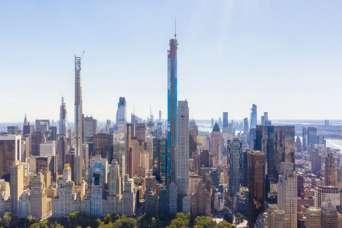 Строительство небоскребов сократилось из-за эпидемии