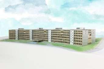 Университет построит самое большое деревянное здание