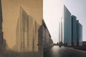 Не построенные небоскребы оживили в цифровом мире