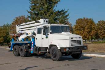Чем отличается автовышка Oil & Steel Snake 2815 на базе КрАЗ-65053