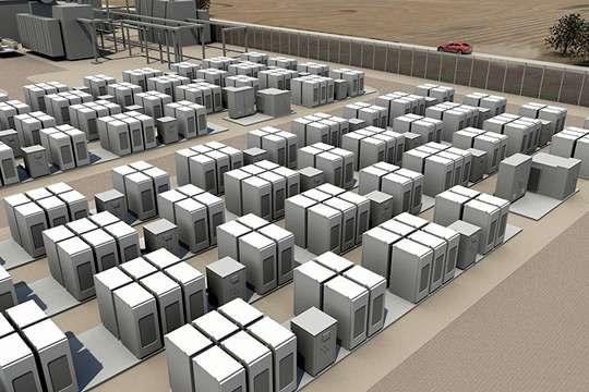 В Украине планируется построить энергохранилище на 200 МВт