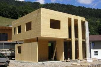 В Украине появилась новая технология строительства домов из CLT-панелей