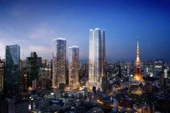 Центр Токио оживят жильем и гостиницей