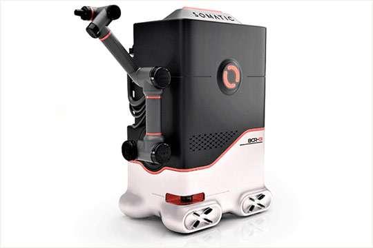 Курьезы: создан робот для мойки и чистки санузлов. Видео