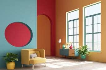 Як використати модні кольори сезону весна-літо 2021 в інтер'єрі
