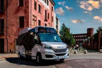 IVECO представила инновационный автобус, работающий на газе