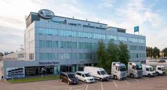 В Украине работает один из крупнейших в Восточной Европе сервисных центров Mercedes-Benz