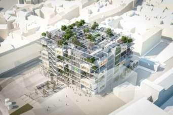 ИКЕА построит первый в мире магазин без доступа для машин