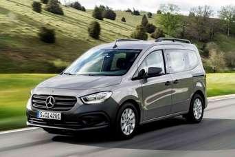 Mercedes-Benz выводит на рынок новое поколение фургонов