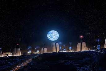 Представлен проект первого поселения на Луне