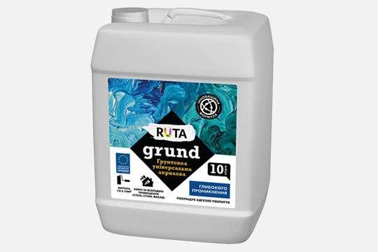 На рынке ЛКМ представлен грунт-концентрат ТМ RUTA