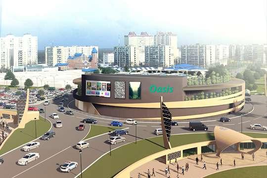 ТРЦ Oasis на Героев Днепра будет открыт до конца 2018 года