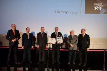 FAKRO получила приз «Строительная компания 2018 года»