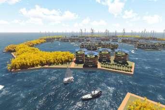 Первый в мире плавучий город поможет окружающей среде
