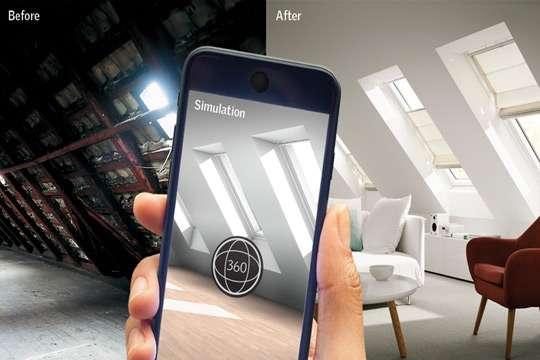 Появилось первое в мире приложение с визуализацией распространения дневного света в помещении. Видео