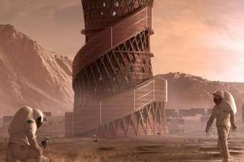 В финал конкурса по строительству космического жилья прошло три команды