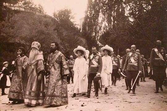 Император Николай II в Киеве. 1911 год. Видео