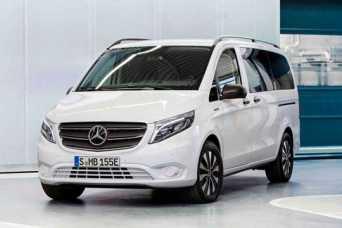 Mercedes-Benz представил бюджетную версию eVito с уменьшенной батареей