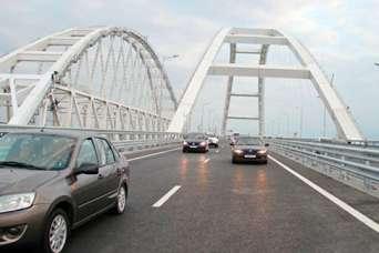Как выглядит Керченский мост 23-мая 2018 года в 13.00, через неделю после открытия автомобильного движения. Фото