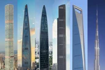 Самые высокие здания мира в августе 2020 г.