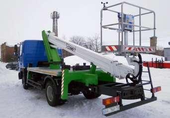 Донецкая ЖД получила новый автогидроподъемник Comet