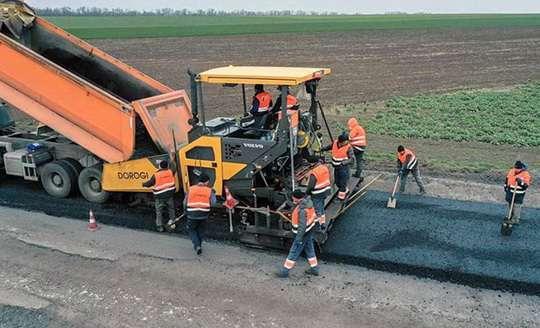 Как строят современные дороги в Украине. Фото
