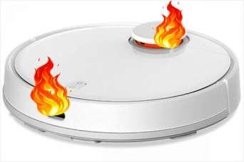 Оказалось, что робот-пылесос стать причиной пожара в квартире