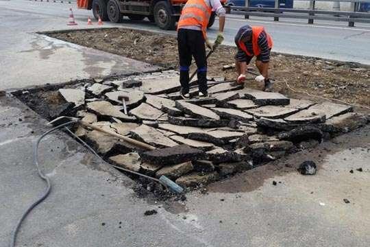 Как делать ямочный ремонт по европейским стандартам