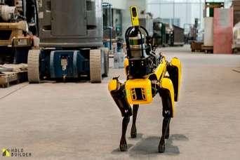 Изобрели робота для авторского надзора за строительством. Видео