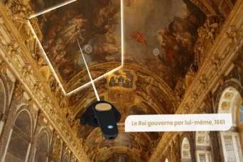 По Версалю начали проводить виртуальные туры