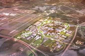 Архитекторы замахнулись на первый в мире город-аэропорт