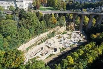 У памятника ЮНЕСКО построили крупный скейтпарк