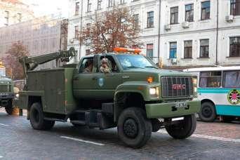 Спецтехника ВСУ: аварийно-спасательные машины GMC TopKick