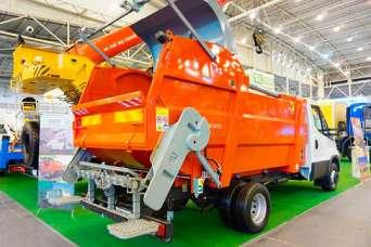 Украинский рынок мусоровозов вырос на треть