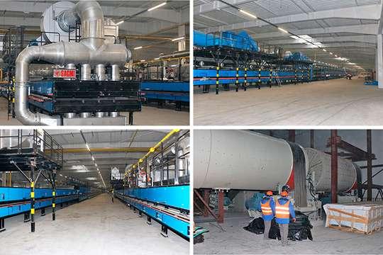 «Эпицентр К» строит под Киевом завод по производству плитки