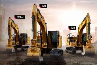 Caterpillar представила экскаваторы седьмого поколения
