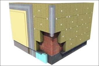 Расчет минимально допустимой толщины минеральной ваты при утеплении дома
